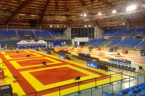 Configuration compétition karaté (Championnats de France)