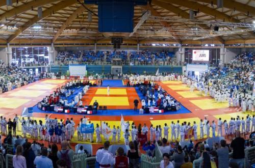 Configuration compétition judo (Championnat de France)